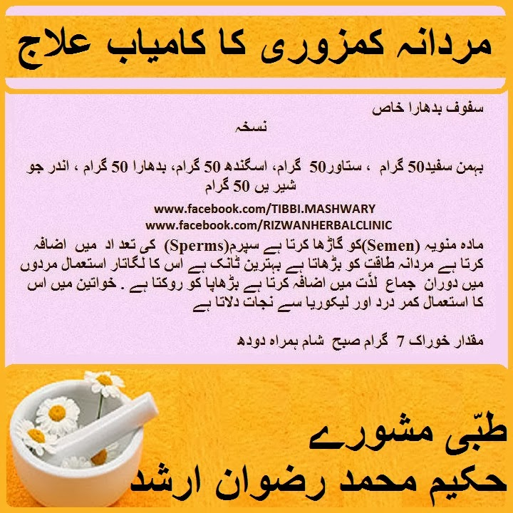 Herbal treatment premature ejaculation