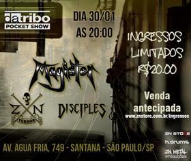 Dia 30/1 em São Paulo
