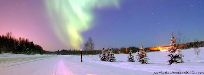 paisaje en la nieve, portada de facebook, biografia timeline