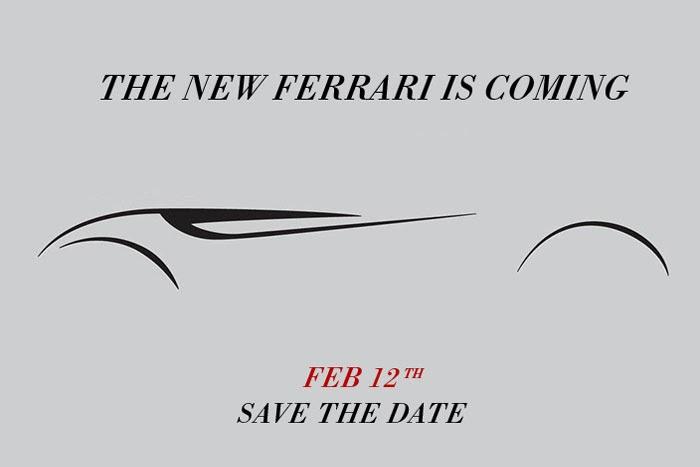 Ferrari presentará mañana un nuevo modelo