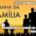 Paróquia Nossa Senhora do Rosário realizará a Semana da Família em Amparo entre os dias 24 e 31 de Agosto