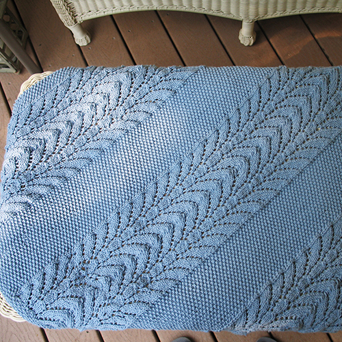 Classic Lace Baby Throw
