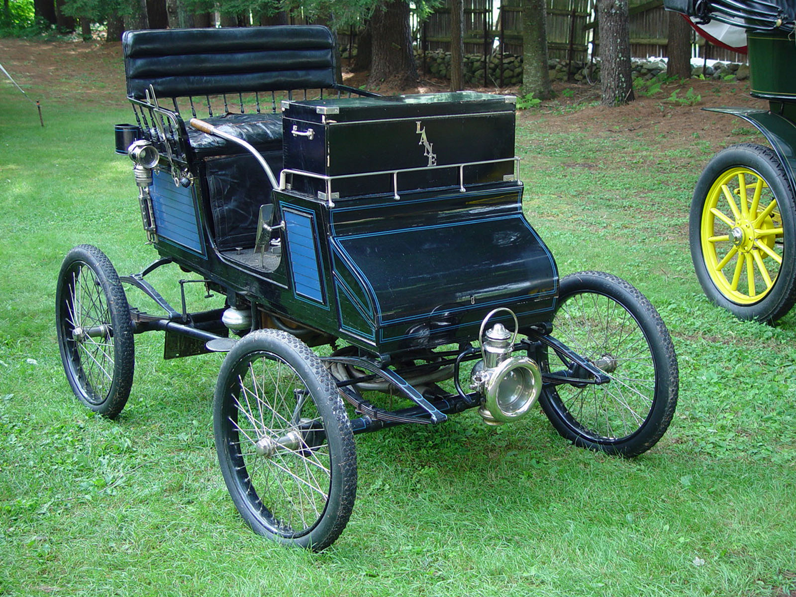 than 50 antique cars from