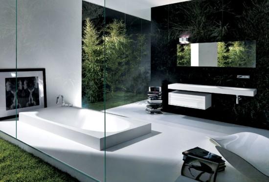 Unique modern bathrooms back 2 home for Habitaciones minimalistas