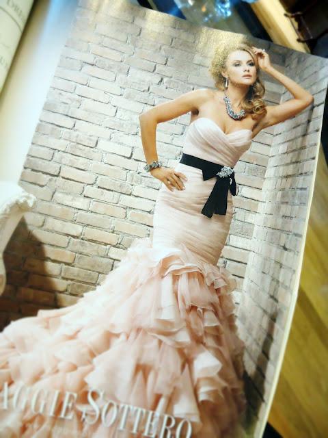 Brides Magazine: Maggie Sottero gown.