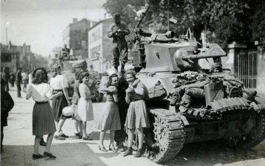 2ème DB Versailles 1944