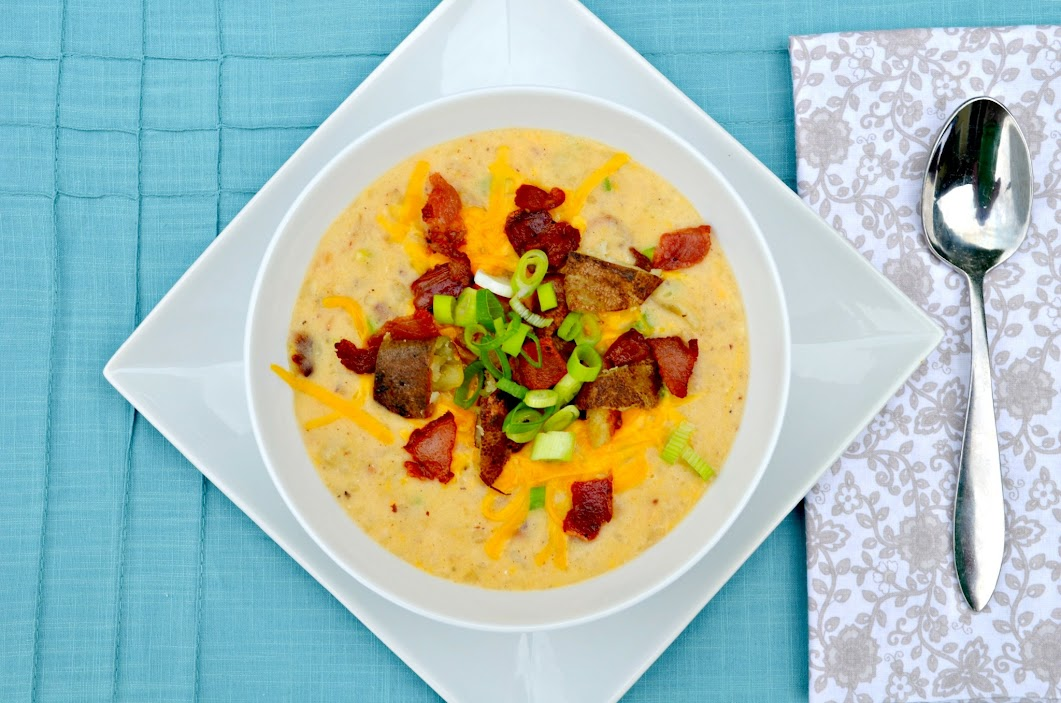 Fully Loaded Baked Potato Soup | Serena Bakes Simply From ...