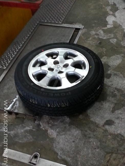 Apa jenis tayar kereta anda?