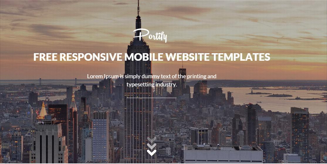 Download Portify : A Portfolio Free Blogger Template V1.2