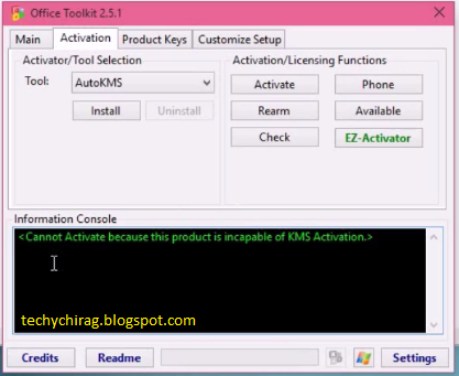 microsoft toolkit kms activation