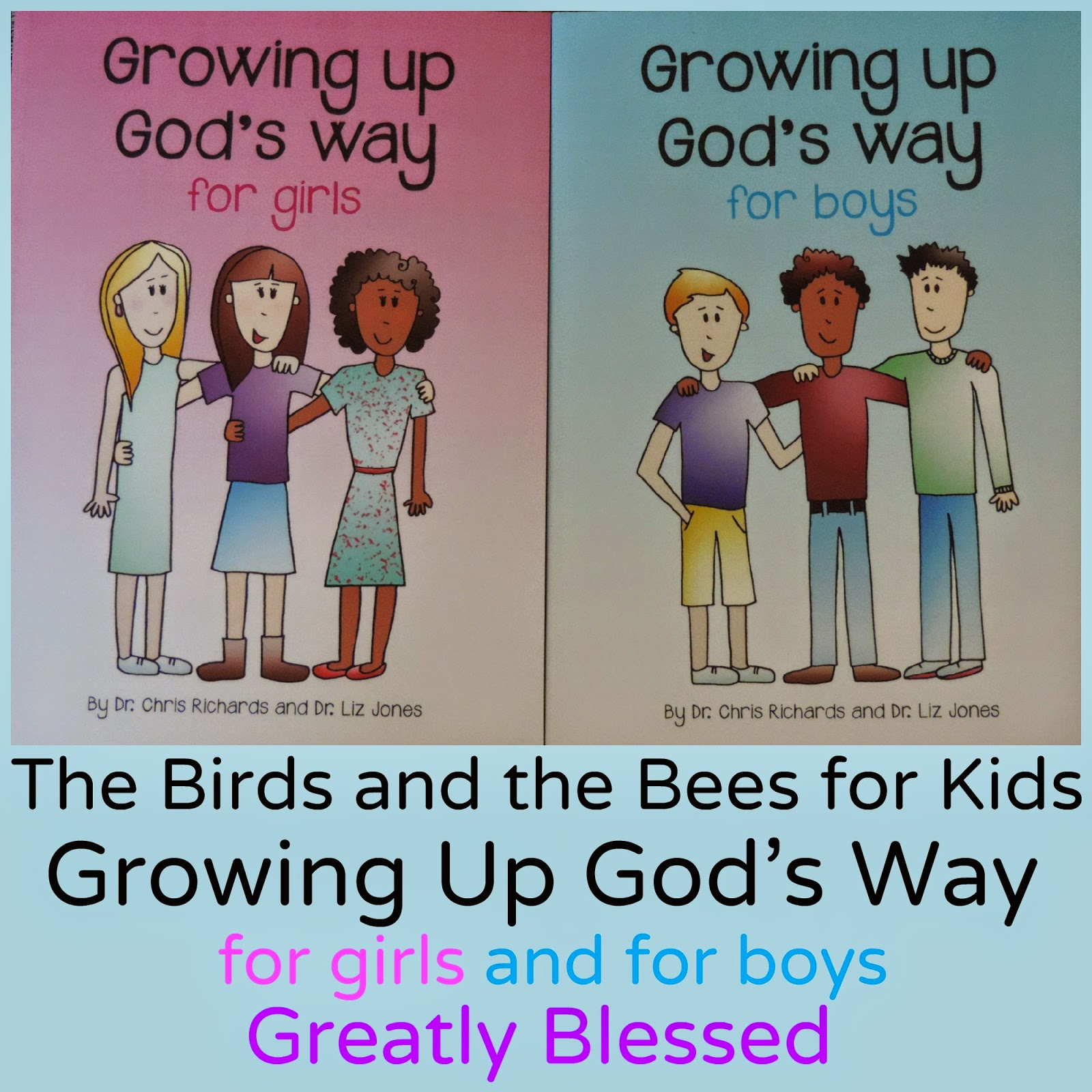 greatly blessed the birds and the bees for kids
