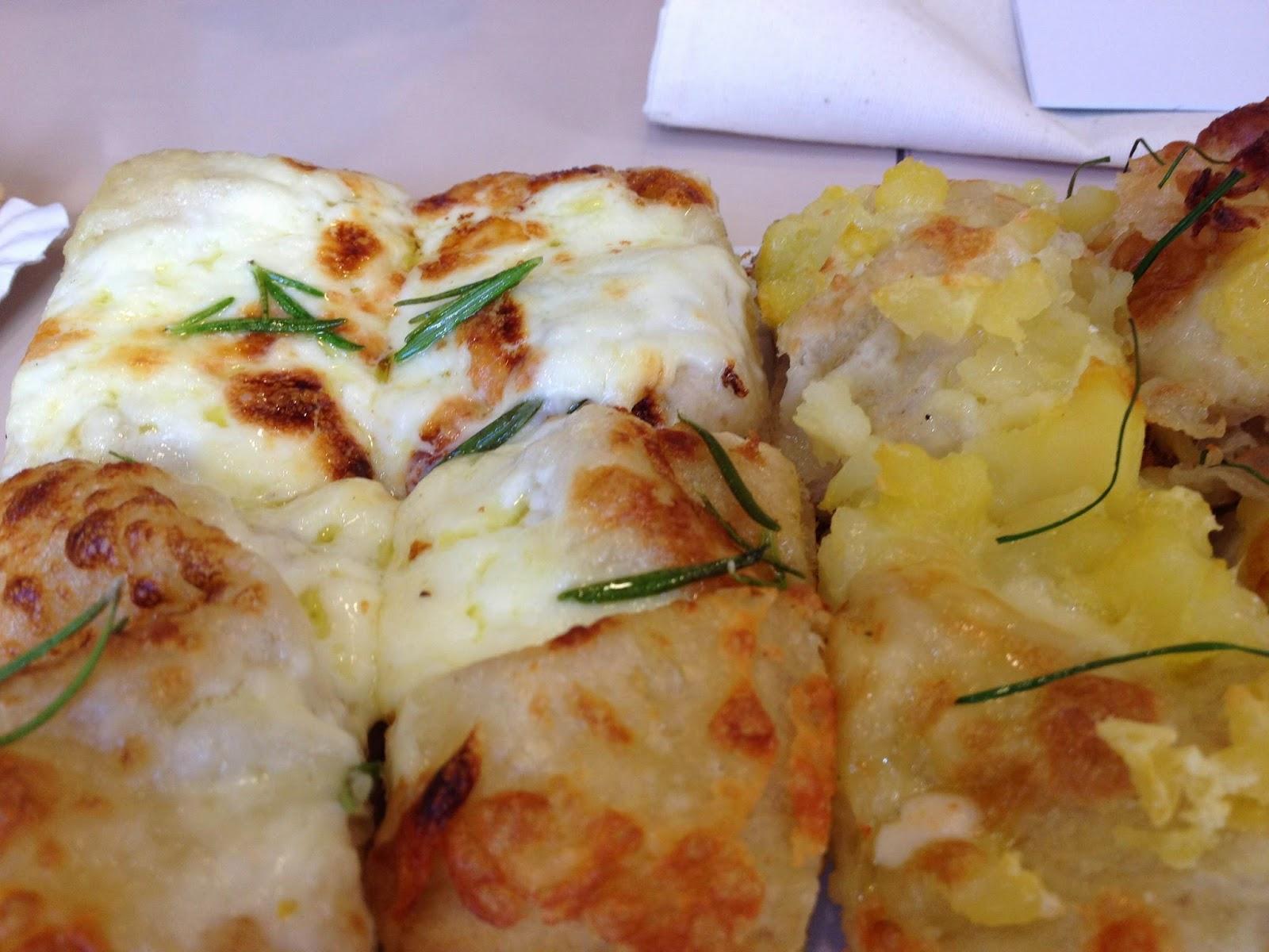 Surtido de pizzas. Buoni le pizze. El Tapeador Sevilla.