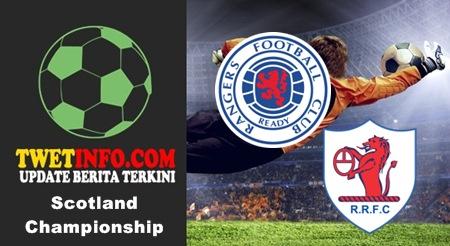 Prediksi Jitu Rangers vs Raith Rovers 05-09-2015