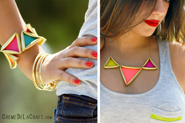 Diy neon necklace from straws - Things made out of straws ...