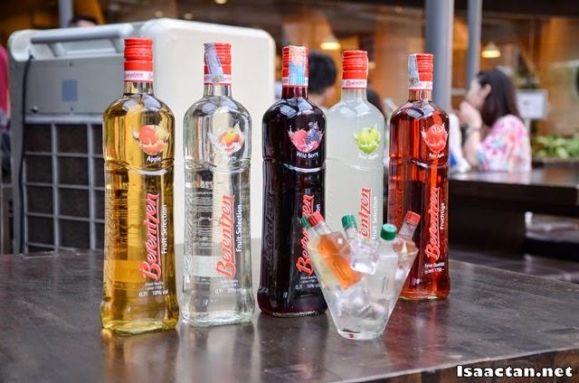 Introducing the Berentzen - Flavoured Schnapps