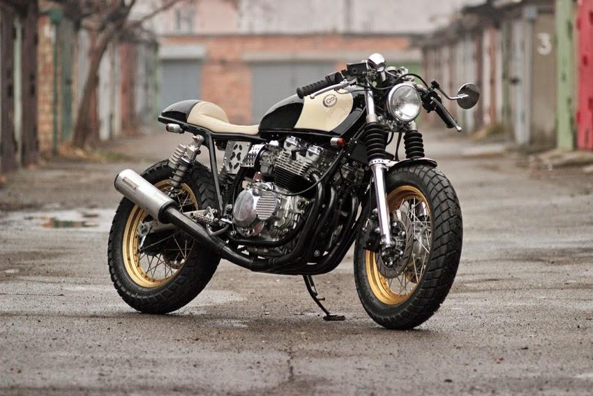 "Hervorragend Gazzz's garage: Yamaha XJ Cafe Racer ""Eight Ball"". EW21"
