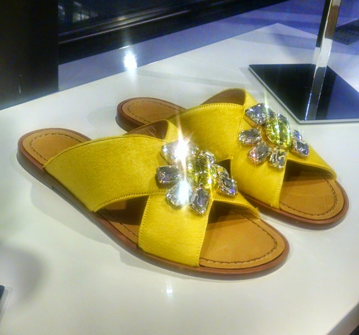 Furla Jeweled Slides
