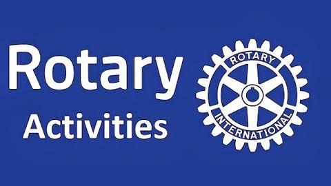 Rotary Activities