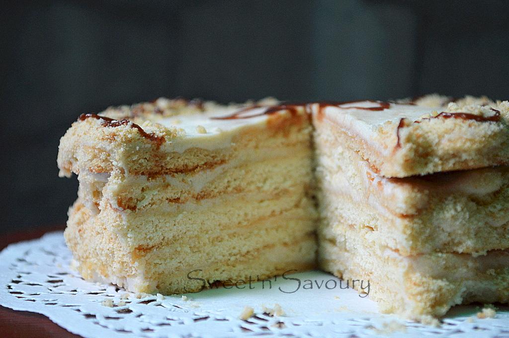 Russian Chocolate Layer Cake