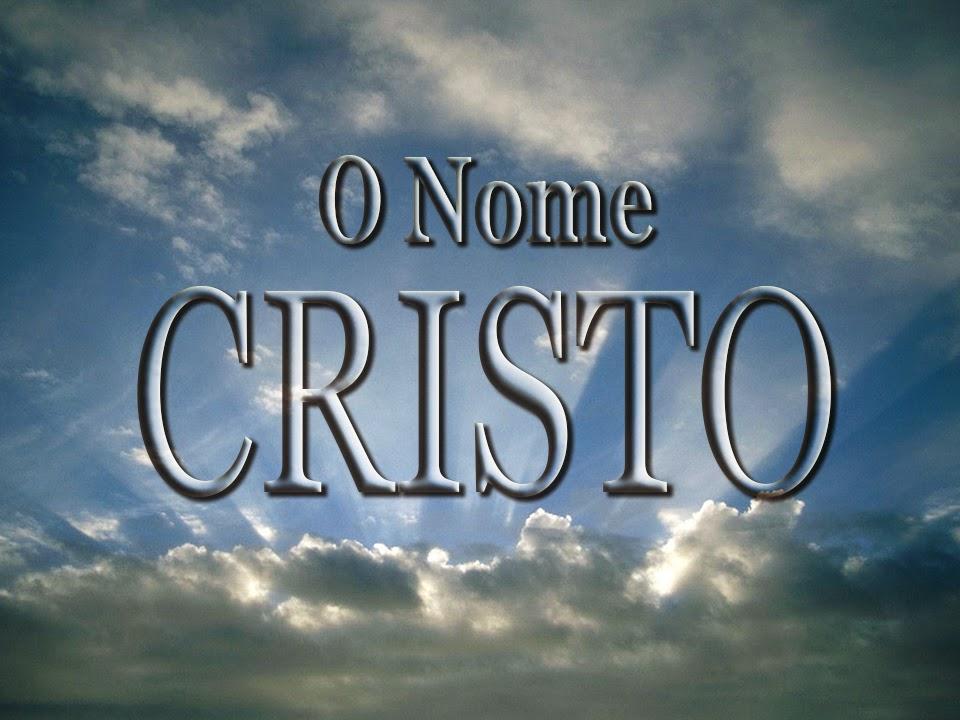 O Nome Cristo, por Rev. Ronald Hanko