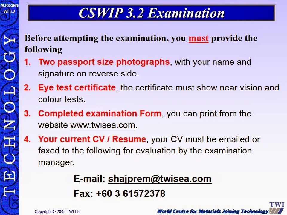cswip 3.1 welding inspector exam papers pdf
