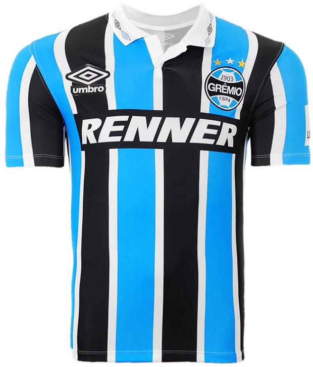 Umbro lança camisa retrô do Grêmio - Show de Camisas e61d35d37bf43
