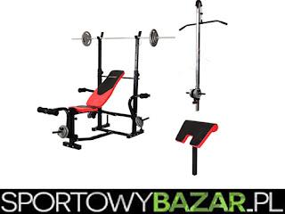 Ławka pod sztangę HS-1060B Hop Sport - SportowyBazar