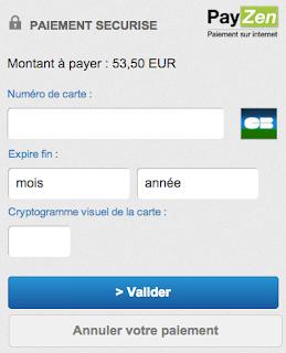 Exemple de CSS mobile Payzen