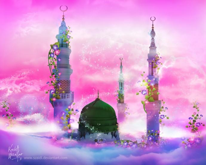 Koleksi Masjid Flower Wallpaper  Download Kumpulan Wallpaper Kagura