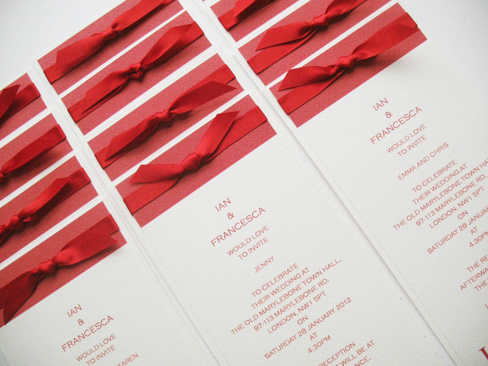 Inspiration for weddings, invitations and stationery: handmade ...