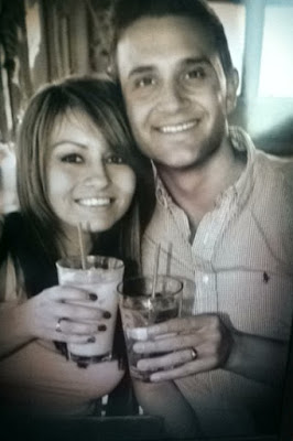 dinner on Santa Monica Pier after we got married