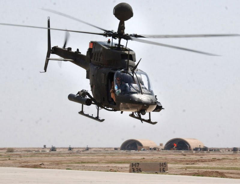 OH-58D Kiowa Warrior Combat  Helicopter