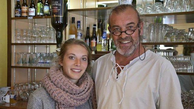 L'Audomarois, bar-tabac, bistrot culturel de proximité à St-Omer-de-Blain 44 - 21 juin 2014 - article Ouest-France : Dominique Le Gall reprend le bar-tabac-presse l'Audomarois.