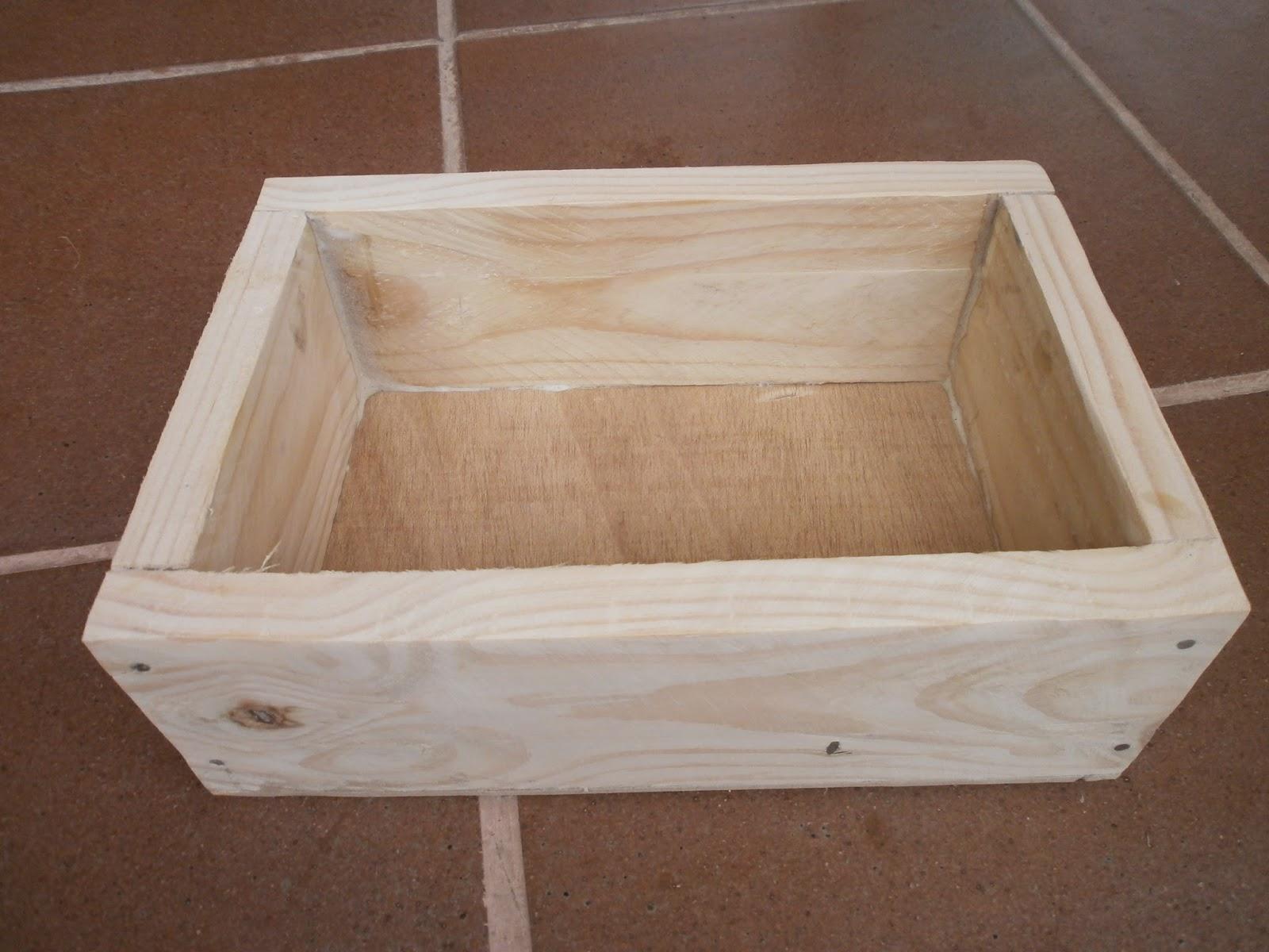 Mis cosas de madera caja retro - Hacer una caja de madera ...