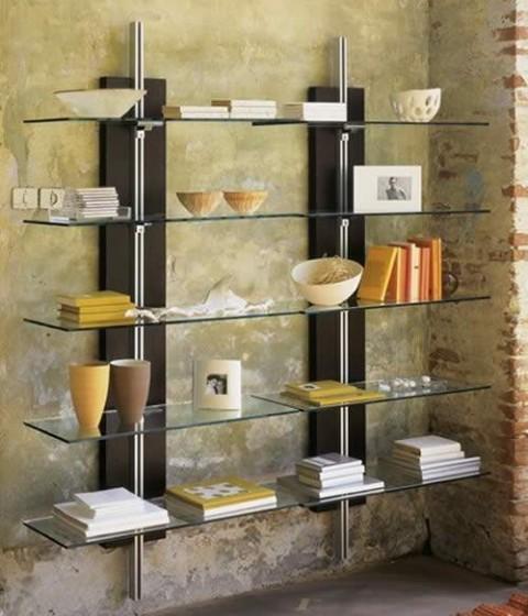 Culto al libro mediante estos hermosos libreros quiero for Diseno de libreros para espacios pequenos