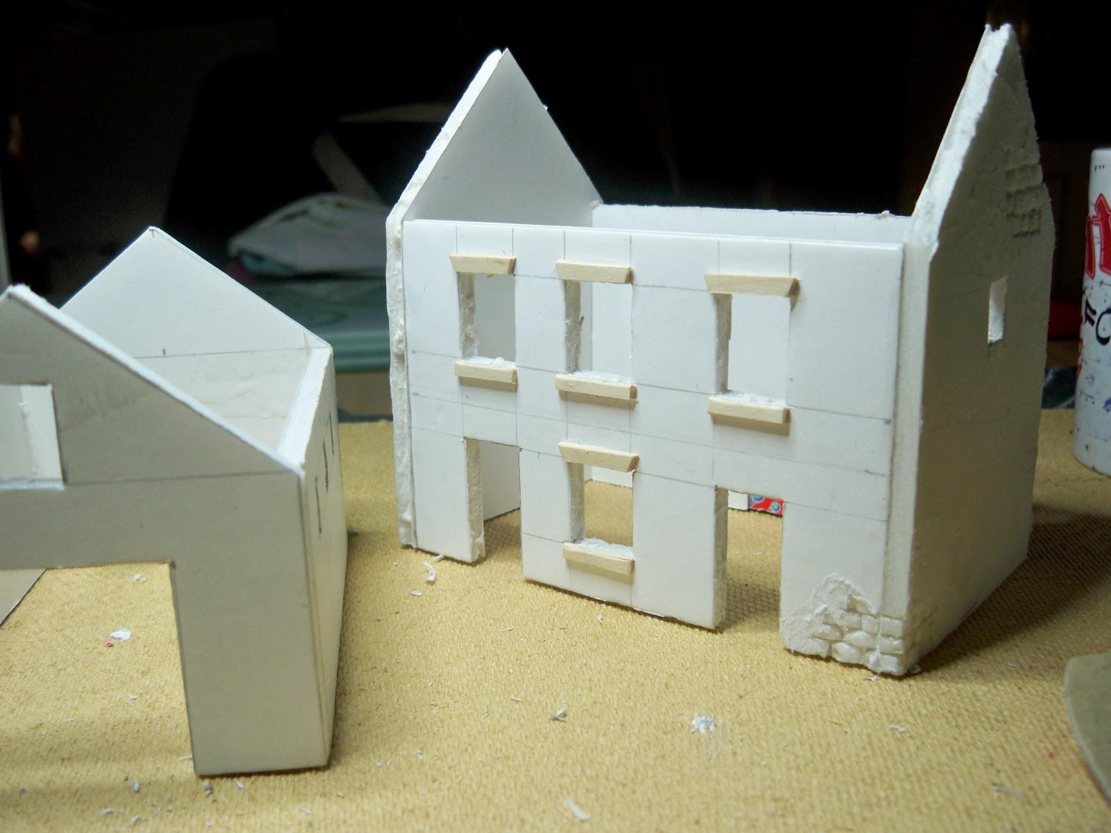 Regeln des krieges first attempt at foam board for Styrofoam house construction