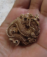 Lion Handle Carving