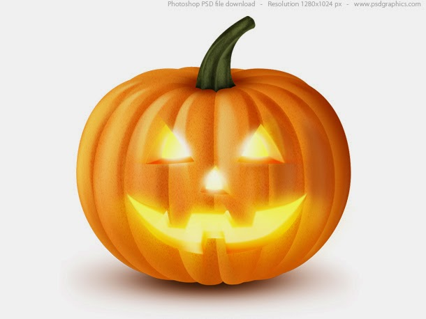 Halloween Pumpkin PSD Icon