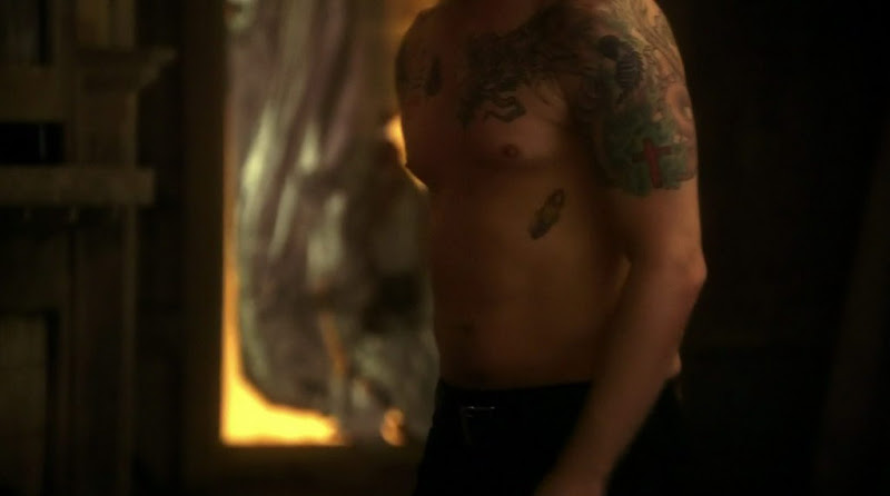 Devon Sawa Shirtless on Nikita s1e18