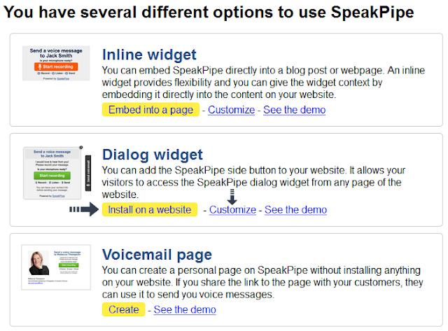 dialog widget