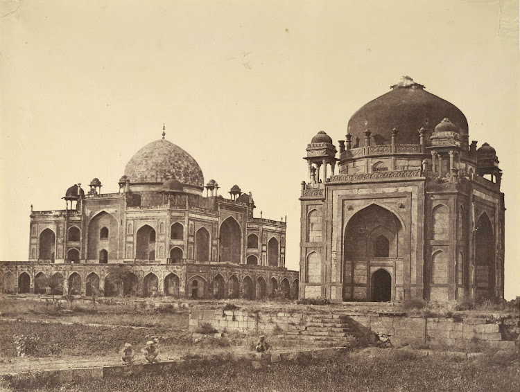 Humayun's tomb and Barber's tomb