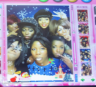 purikura, gyaru, gyaru fashion, gal, gal fashion, chinatown, black gyaru,