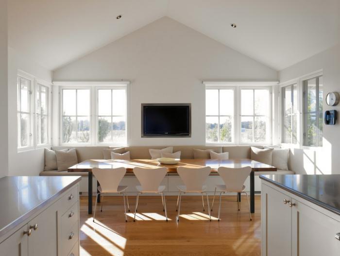 Dise o de una cocina reforma de una vivienda kansei for Mesas de cocina con banco