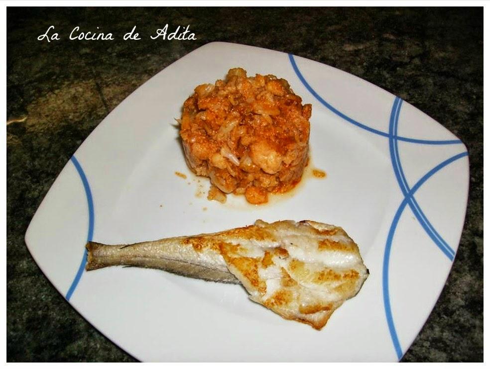 Coliflor rehogada (dieta)