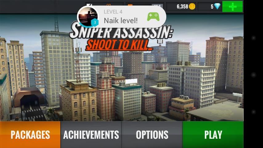 Sniper 3D Assassin: Sensasi Penembak Jitu Dari Atas Gedung
