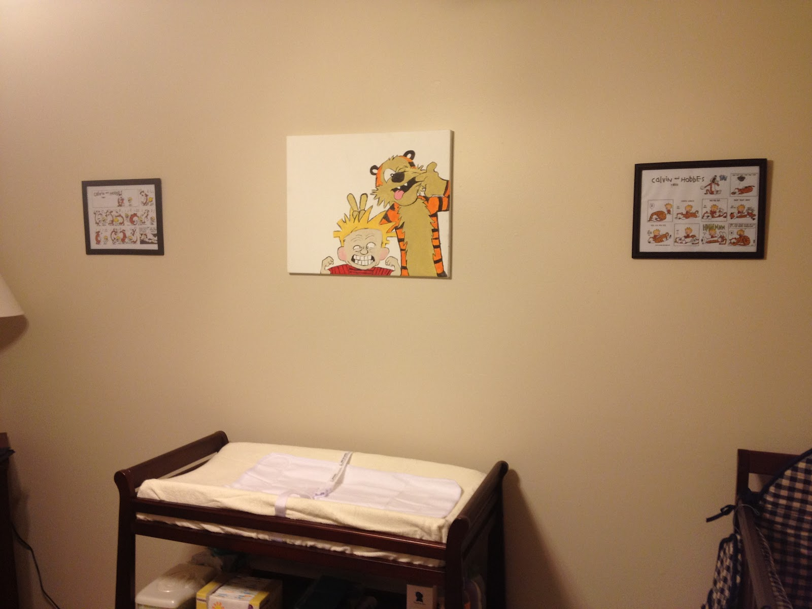 These Mountains Are Mine.: Nursery: Calvin & Hobbes