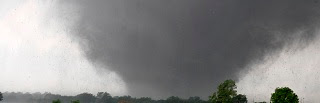 Tornado near Moore Oklahoma, May 2013.