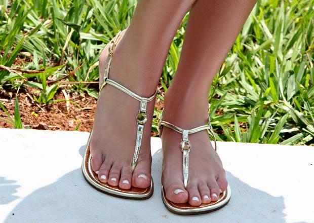 Como escolher os sapatos certos - Rasteirinhas