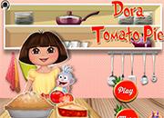 Dora tomato pie juegos de cocina jugar online - Dora la exploradora cocina ...