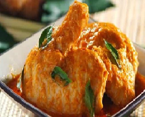 cara memasak gulai ayam padang asli sederhana